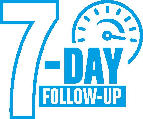 7-DAY blue logo